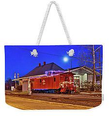 Christmas In Aberdeen North Carolina 1 Weekender Tote Bag