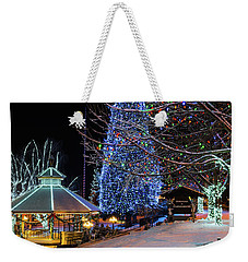 Christmas In Leavenworth Weekender Tote Bag