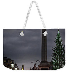 Christmas In Trafalgar Square, London Weekender Tote Bag