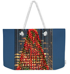 Weekender Tote Bag featuring the photograph Christmas In Pittsburgh 2016  by Emmanuel Panagiotakis