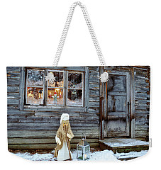 christmas in Scandinavia Weekender Tote Bag