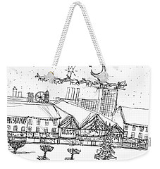 Christmas In The City Weekender Tote Bag by Artists With Autism Inc