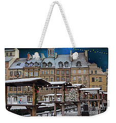 Weekender Tote Bag featuring the photograph Christmas In Warsaw by Juli Scalzi