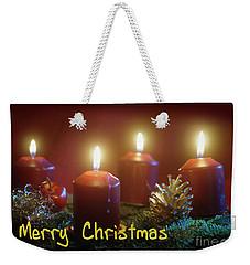Christmas Is Coming 2 Weekender Tote Bag
