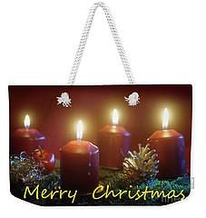 Christmas Is Coming 3 Weekender Tote Bag
