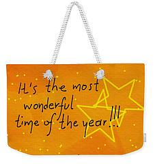 Christmas Is Coming  Weekender Tote Bag