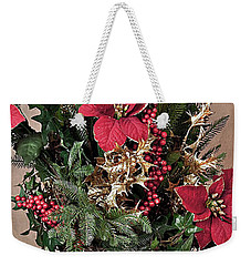 Christmas Jewels Weekender Tote Bag