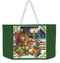 Christmas Journey Weekender Tote Bag