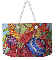 Christmas Joys Weekender Tote Bag