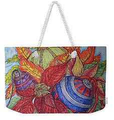 Christmas Joys Weekender Tote Bag