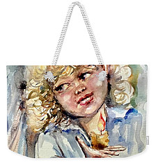 Christmas Light Weekender Tote Bag