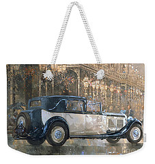 Christmas Lights And 8 Litre Bentley Weekender Tote Bag by Peter Miller