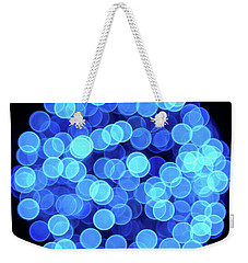 Christmas Lights Illuminate Our Cities Weekender Tote Bag