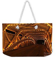 Christmas Luminance Weekender Tote Bag