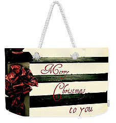 Christmas No. Eleven Weekender Tote Bag by Chris Berry