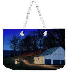 Christmas On The Farm Weekender Tote Bag