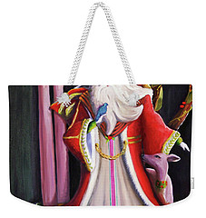 Christmas Pitcher  Weekender Tote Bag