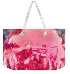 Christmas Reflected Weekender Tote Bag