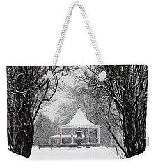 Christmas Season In The Park Weekender Tote Bag