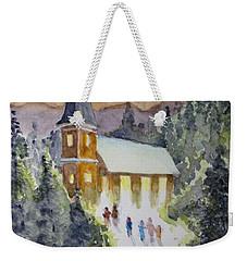Christmas Service Weekender Tote Bag