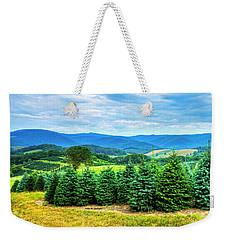Christmas Spirit Weekender Tote Bag by Dale R Carlson