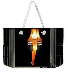 Christmas Story Leg Lamp Weekender Tote Bag