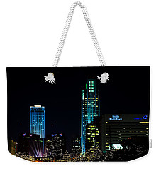 Christmas Time In Omaha Weekender Tote Bag