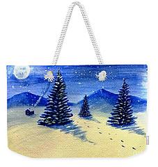 Christmas Time Weekender Tote Bag
