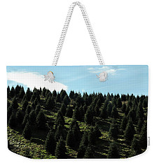 Christmas Tree Farm Weekender Tote Bag