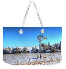 Christmas Trees In Iowa Weekender Tote Bag