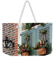 Christmas Welcome Weekender Tote Bag