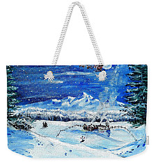 Christmas Wonderland Weekender Tote Bag