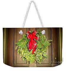 Christmas Wreath At Batso Village Weekender Tote Bag