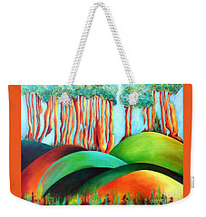 Forest Waltz Weekender Tote Bag by Elizabeth Fontaine-Barr