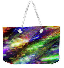 Chromatic Current Weekender Tote Bag