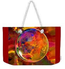 Chromatic Floral Sphere Weekender Tote Bag