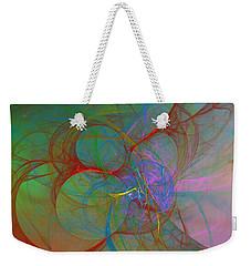 Chromatically Declining Weekender Tote Bag