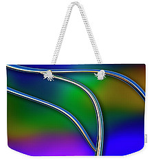 Weekender Tote Bag featuring the photograph Chrome by Paul Wear