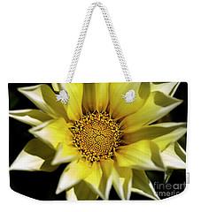 Weekender Tote Bag featuring the photograph Chrysanthos by Linda Lees