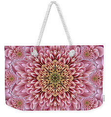 Chrysanthemum Beauty Weekender Tote Bag