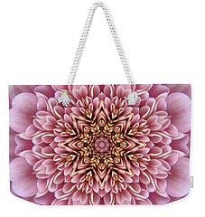 Chrysanthemum Kaleidoscope Weekender Tote Bag