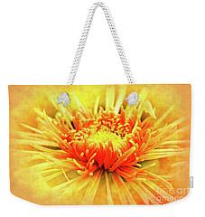 Chrysanthemum Weekender Tote Bag