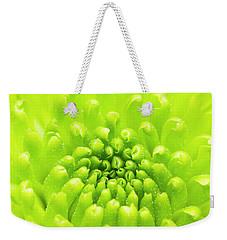 Chrysanthemum Macro Weekender Tote Bag