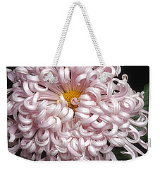 Chrysanthenmum 'satin Ribbon' Weekender Tote Bag