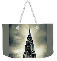 Chrysler Building Weekender Tote Bag by Jessica Jenney