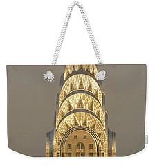 Chrysler Building New York Ny Weekender Tote Bag