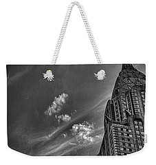 Chrysler Building Nyc Weekender Tote Bag by Martin Newman