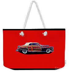 Chrysler Town And Country Convertible Roadster Weekender Tote Bag