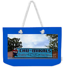 Chu - Mikals - Friendly Austin Texas Charm Weekender Tote Bag
