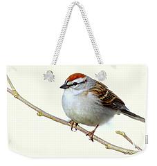 Chubby Sparrow Weekender Tote Bag